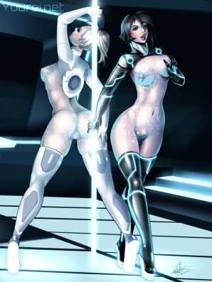 Tron Strippers Censor